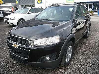 gebraucht Chevrolet Captiva 2.0 TD 4 WD Kombi / Family Van