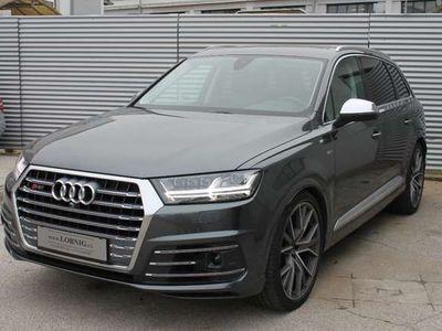 gebraucht Audi SQ7 Q74,0 TDI quattro Tiptronic VOLL NP 149750 € 7 Sitze PANO SUV / Geländewagen