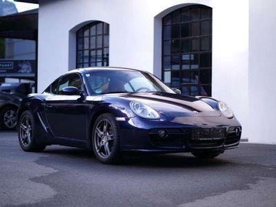gebraucht Porsche Cayman Garagen-/Schönwetterfahrzeug Sportwagen / Coupé