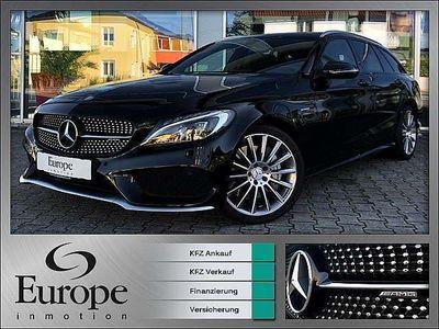 gebraucht Mercedes C43 AMG C-KlasseAMG T 4-Matic / Perf. Abgas & Perf. Sportl... Kombi / Family Van