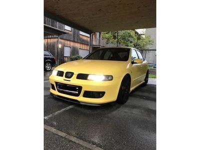 gebraucht Seat Leon 1,8 CupraR Turbo