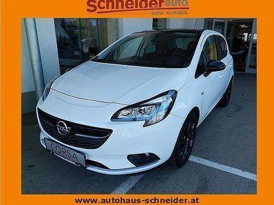 gebraucht Opel Corsa 1,4 Ecotec Black&Color Limousine,