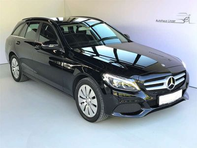gebraucht Mercedes C220 C-Klassed T 4MATIC Aut.*LED*NAVI Kombi / Family Van