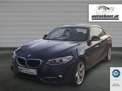 gebraucht BMW 220 2er-Reihe d Coupé Sport Line Aut. Sportwagen / Coupé,
