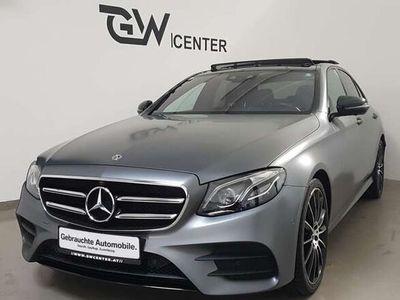 gebraucht Mercedes E400 4Matic Lim.*Designo Selenitgrau Magno*NightPaket