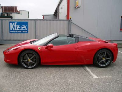 gebraucht Ferrari 458 Spider, Diamond Forged wheels, Extras, Top!