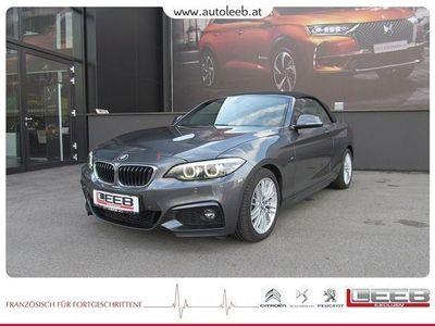 gebraucht BMW 220 i Cabrio Aut. M-Paket/Navi/LED/ uvm. M-Sport
