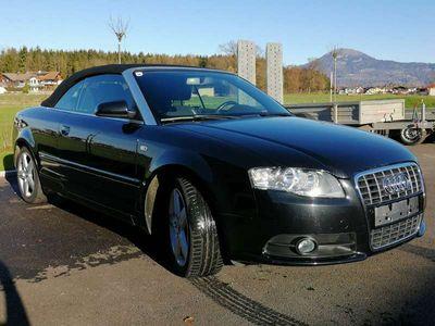 gebraucht Audi A4 Cabriolet 2.0 TDI S-Line / NEUES VERDECK! Cabrio / Roadster