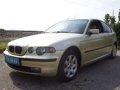 gebraucht BMW 316 Compact 3er-Reihe ti Limousine