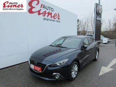 gebraucht Mazda 3 Sport CD150 Revolu. Top Leder,Navi,Bluet, Kamera Limousine