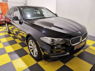 gebraucht BMW 518 5er-Reihe d Individual Xenon el. Sitze PDC Tempomat Lichtautomatik Limousine