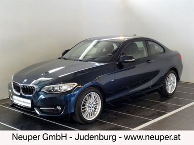 gebraucht BMW 218 2er-Reihe d Coupé Österreich-Paket Sportwagen / Coupé,