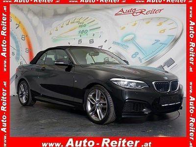 gebraucht BMW 218 i Cabrio Aut. *M-SPORT, LED, NAVI* *NP: ~€ 52.400,-*