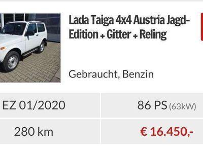 gebraucht Lada Taiga Jagd Edition SUV / Geländewagen