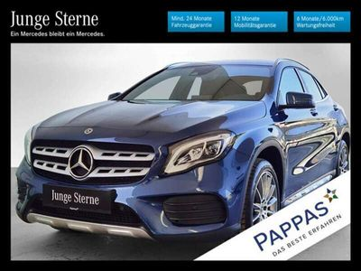 gebraucht Mercedes GLA200 *AMG-Styling*Night-Paket*19'Räder*LED*Navi*u.v.m.*