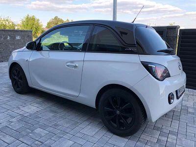 gebraucht Opel Adam Black/White Edition Klein-/ Kompaktwagen,