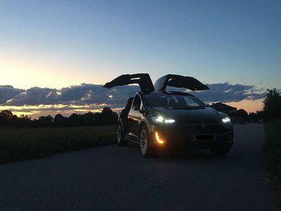 gebraucht Tesla Model X Maximale Reichweite Raven 100D inkl AP Kombi / Family Van