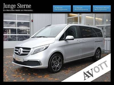 gebraucht Mercedes 300 V-Klasse Vd AVANTGARDE lang AMG Fahrassist. Standhei Kombi / Family Van