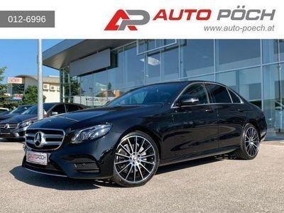 gebraucht Mercedes E220 4MATIC Aut. AMG-Line/Widescreen/Pano/Comand/Top