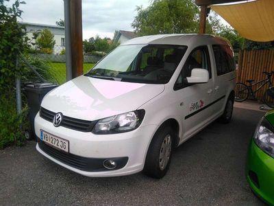 gebraucht VW Caddy Kombi Trendline 2,0 EcoFuel Kombi / Family Van