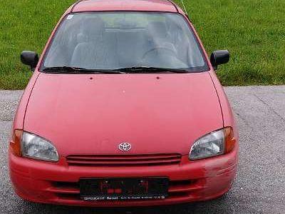 gebraucht Toyota Starlet 1,3XLi-dreitürig Klein-/ Kompaktwagen