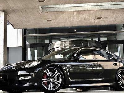 brugt Porsche Panamera Turbo Turbo 500PS / NEU ÜBERPRÜFT / TOP-ZUSTAND / 20 ZOLL RAD / SPORTABGASANLAGE / LUXUS PUR / Sportwagen / Coupé,