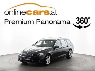 gebraucht BMW 530 d xDrive Touring Aut. LUXURY LINE XENON NAVI L VOL