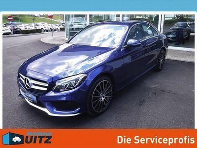 gebraucht Mercedes C180 BlueTEC AMG Line A-Edition Plus Aut.