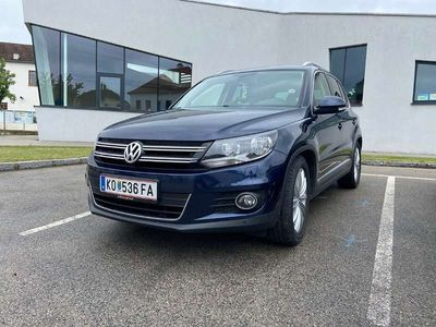gebraucht VW Tiguan 2.0 TDI DSG Cup SUV / Geländewagen