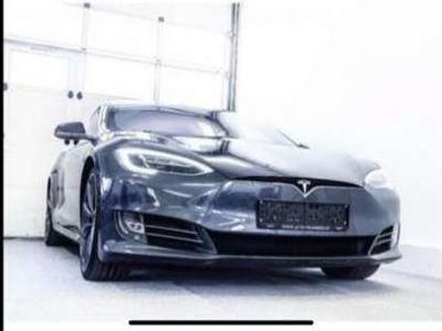 gebraucht Tesla Model S 90D Gratis Supercharging AWD Luftfederung panorama