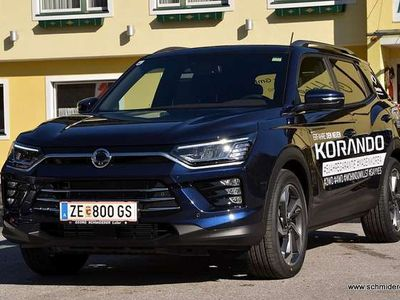 gebraucht Ssangyong Korando Premium 1,6D 4WD Aut.