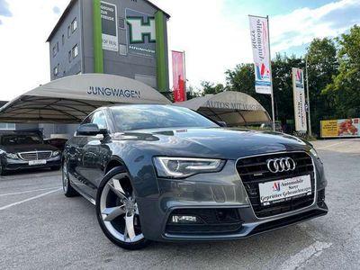 gebraucht Audi A5 3,0 TDI Quattro Sport+3x S line+Navi+Kamera+Xenon-