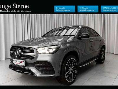 gebraucht Mercedes GLE400 d 4M Coupé / 22 Zoll / AHK LP: € 123.590,-