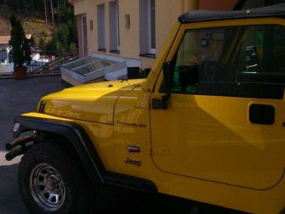 gebraucht Jeep Wrangler 2,5 Sport Soft Top