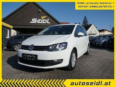 gebraucht VW Sharan Karat BMT 2,0 TDI DSG *NAVI+XENON+AHV*