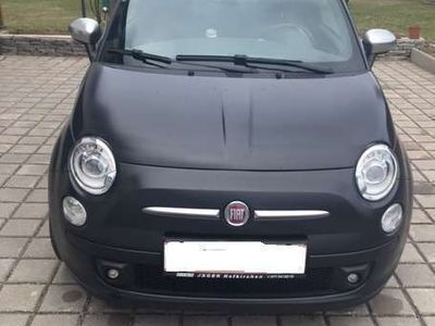 used Fiat 500 1,3 16V JTD Mjet II Matt Black Start&Stop Klein-/ Kompaktwagen,