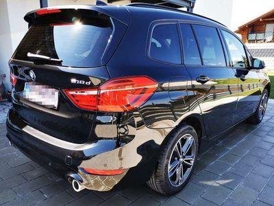 gebraucht BMW 218 Gran Tourer 2er-Reihe Aut. Navi LED SHZ PDC Kombi / Family Van