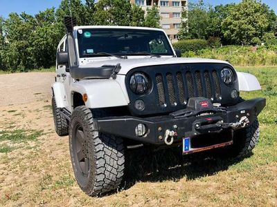 gebraucht Jeep Wrangler Unlimited Sahara 2,8 CRD Aut.