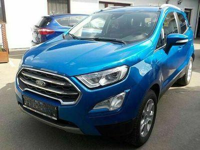gebraucht Ford Ecosport 1,5 TDCi Titanium