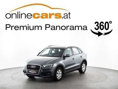 gebraucht Audi Q3 2,0 TDI quattro Aut. XENON AHK ASSISTENZ TEM... SUV / Geländewagen,