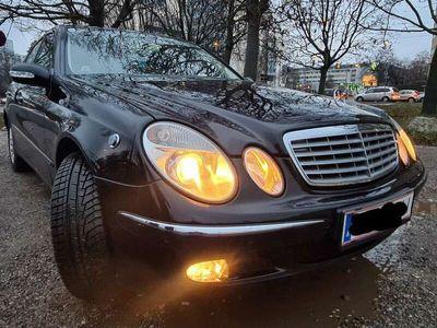 gebraucht Mercedes E320 Elegance CDI Aut. Diplomaten Fahrzeug