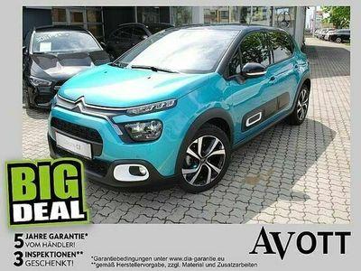 gebraucht Citroën C3 PureTech 110 SS EAT6 Shine Navi Automatik Bremsas