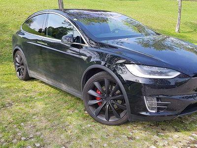 gebraucht Tesla Model X P100DL 772PS Topmodel SUV / Geländewagen