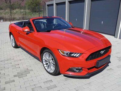 gebraucht Ford Mustang Convertible 2,3 EcoBoost, Schaltgetriebe Cabrio / Roadster