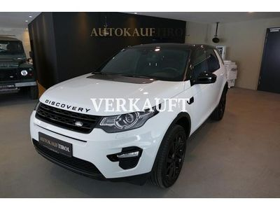 brugt Land Rover Discovery Sport 2,0 SD4 4WD HSE Aut. HSE