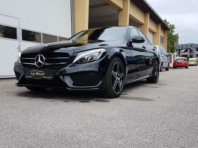 gebraucht Mercedes C220 C-Klassed AMG Line Aut.*Panorama*RFK* Limousine,
