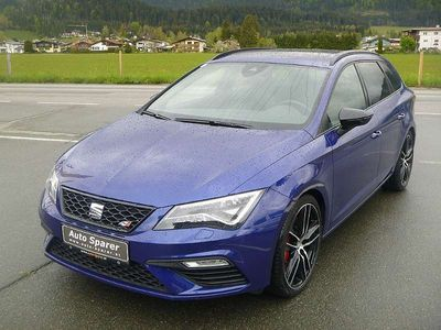 gebraucht Seat Leon ST Cupra 2,0 TSI DSG 4Drive Kombi / Family Van,