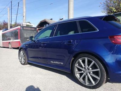 gebraucht Audi A3 Sportback quattro Sport 2,0 TDI DPF