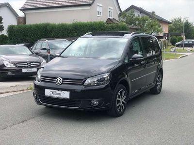 gebraucht VW Touran Highline 1,4 TSI EcoFuel ERDGAS - PANO - NAVI Kombi / Family Van
