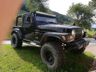 gebraucht Jeep Wrangler 4.0 HO SUV / Geländewagen